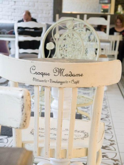 Croque Madame Krzesło