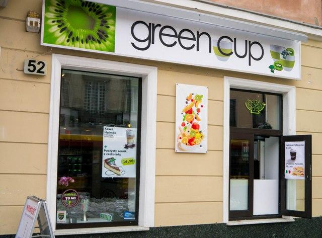 Green Cup z zewnatrz