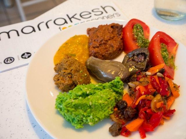 Marrakesh Cafe Talerz rozmaitości