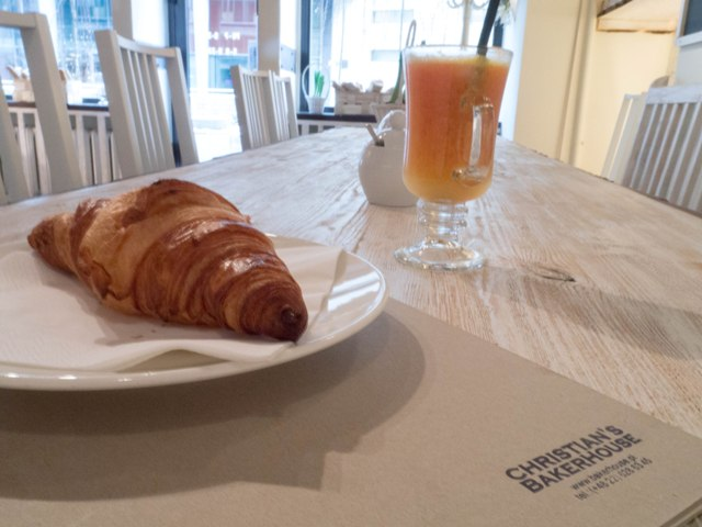 Christian's Bakerhouse Croissant i sok