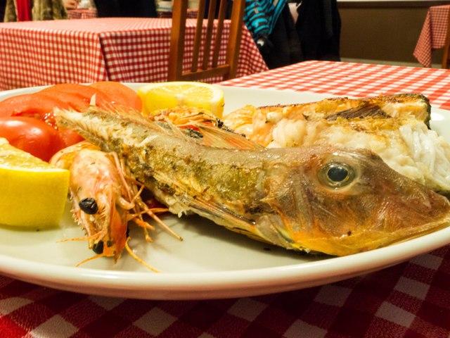 Mix ryb grillowanych Kurek czerwony