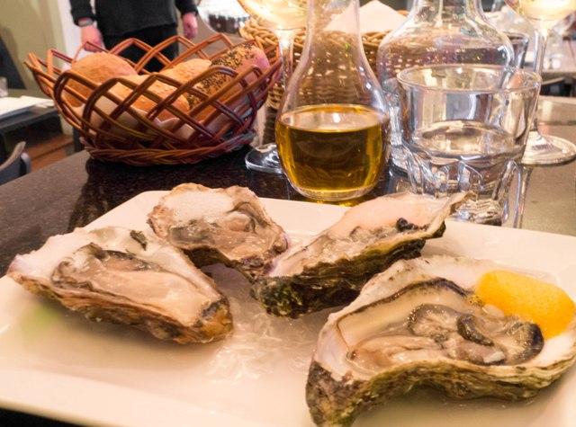 Rybny piątek w Superiore Ostrygi z piankami