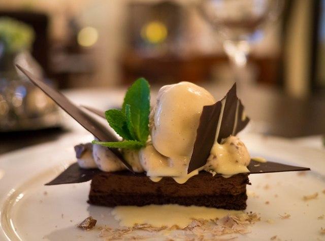 La Rotisserie Mus czekoladowy z kasztanami