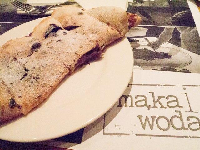 Mąka i Woda Saltimbocca z nutellą