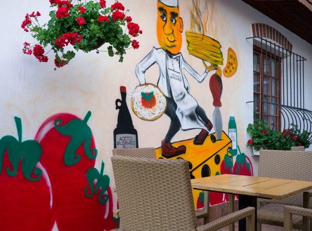 Trattoria Giancarlo Graffiti