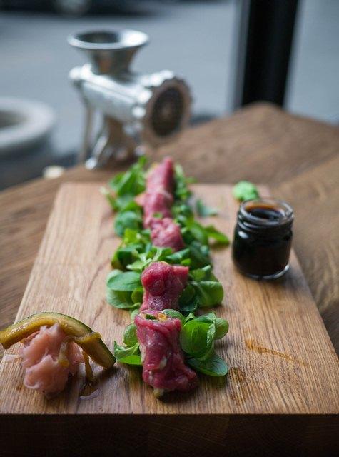 Bydło i Poidło Sashimi z wołowiny