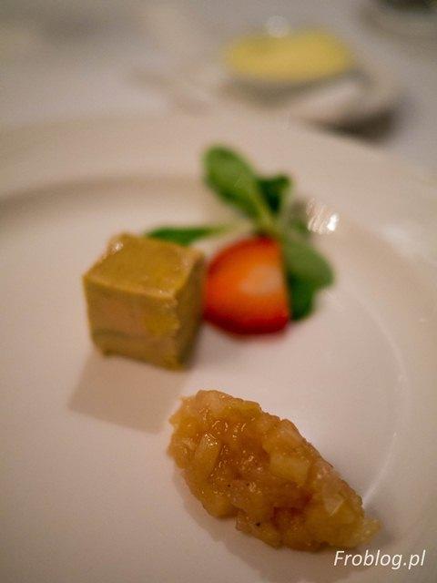 Bistro de Paris Amuse Bouche Foie Gras z kaczki