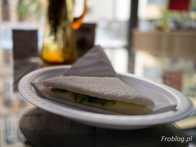 La Scarpetta Tramezzino Brie cukinia rukola