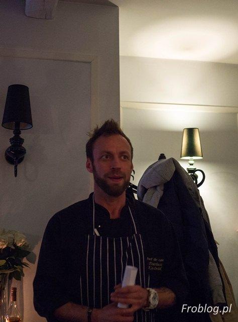 Dariusz Kuźniak szef kuchni LARC