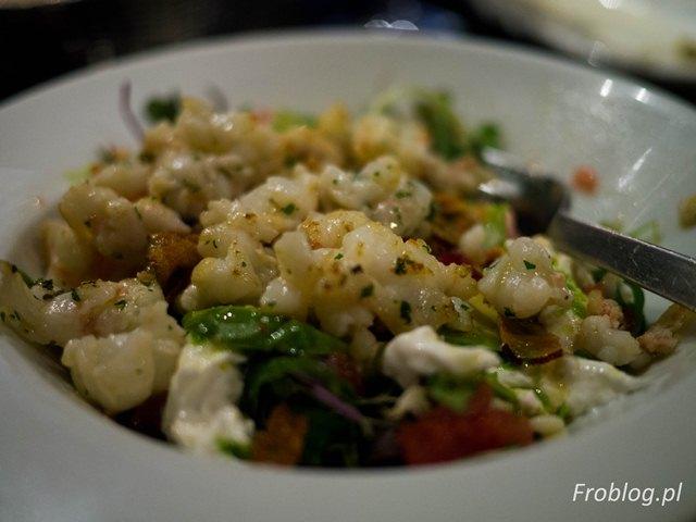 Laredo Warm salad with lobster