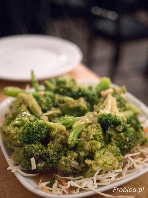 Mandala Brokuły w sosie ostrygowym