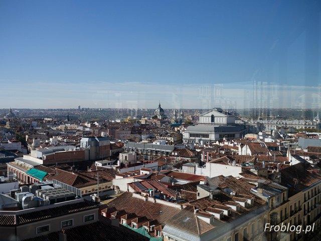 StreetXO Madryt z 9 piętra