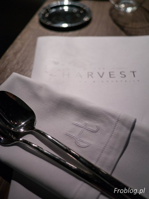 The Harvest Robert Trzópek Menu