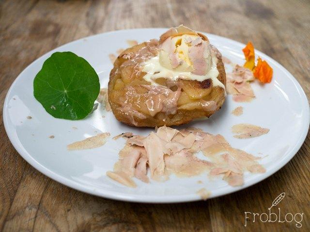 AleWino Tarta tatin z foie gras
