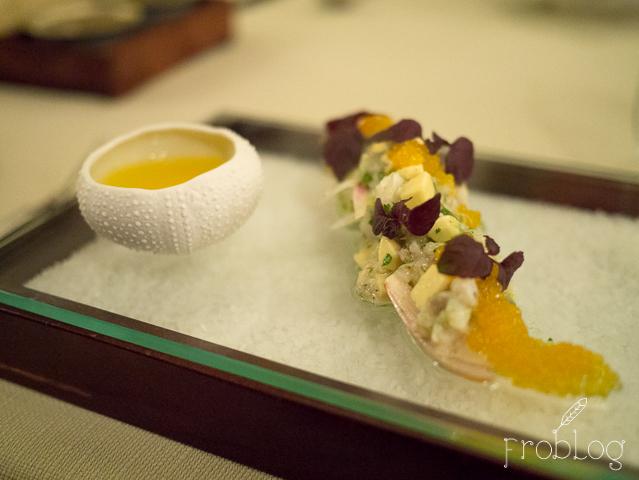 Restauracja Salto Ceviche z korwina