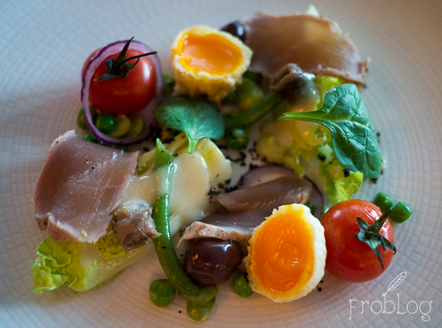 Brasserie Moderne Wiosenna Nicoise