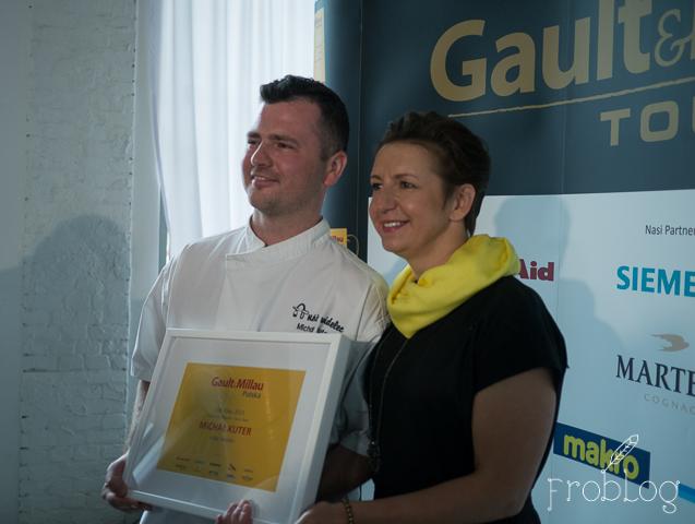 Gault & Millau Tour 2015 Poznań Justyna Adamczyk Michał Kuter