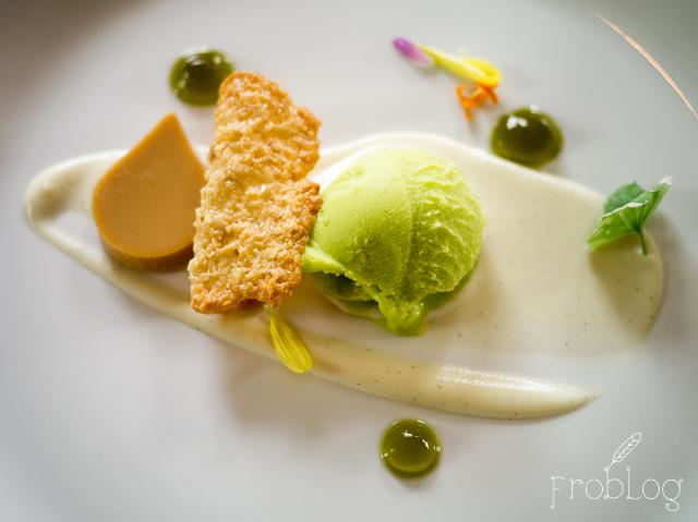 Spiżarnia Warmińska 5 Lody jabłkowe z foie gras