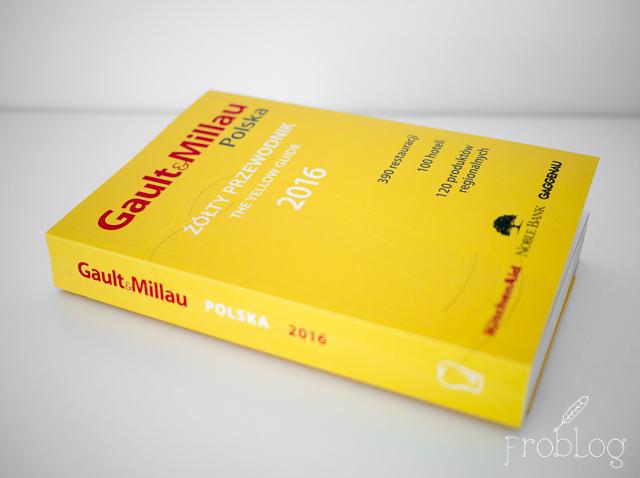 Żółty przewodnik Gault et Millau Przewodnik