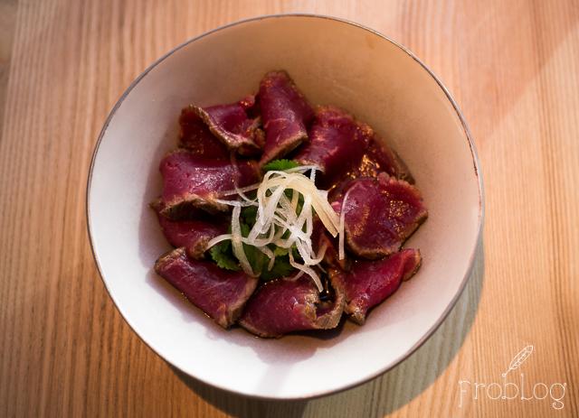Shoku Beef tataki