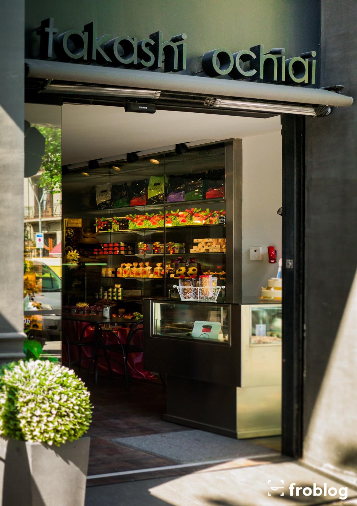 Gdzie jeść w Barcelonie deser: Takashi Ochiai