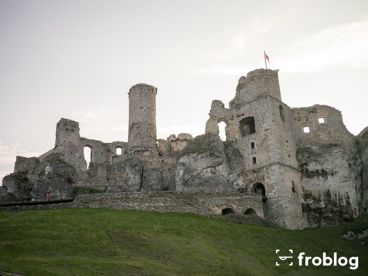 Zamek Ogrodzieniec-1