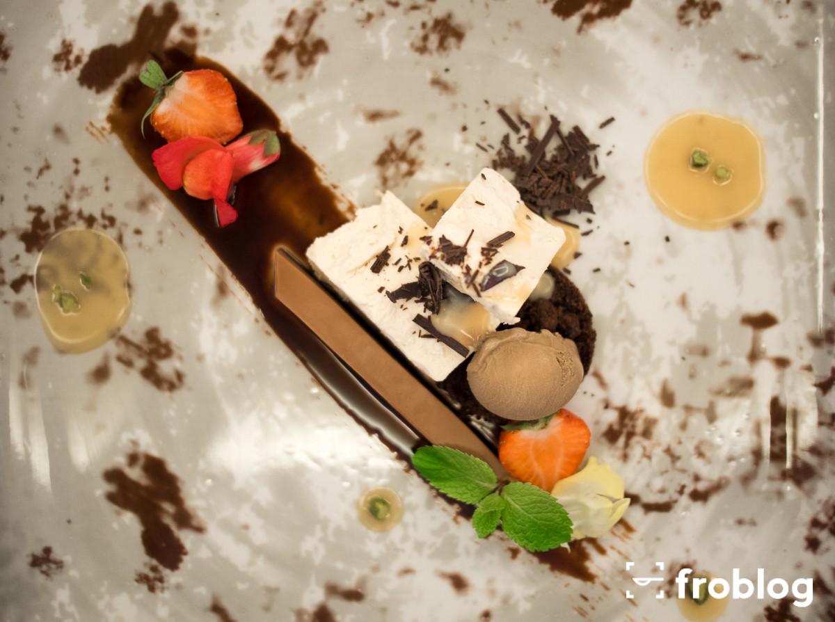 Parfait z czekolady karmelowej