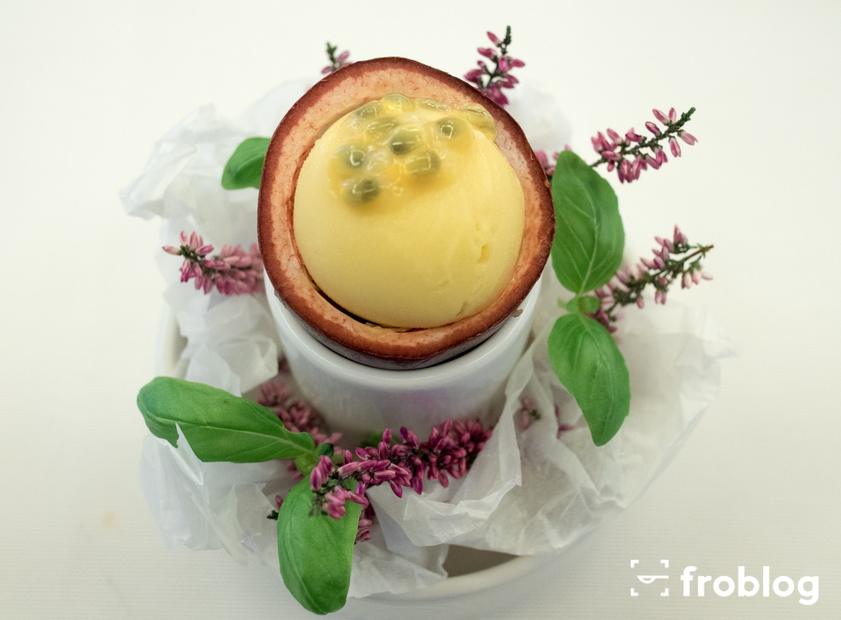 Sorbet mango i marakuja