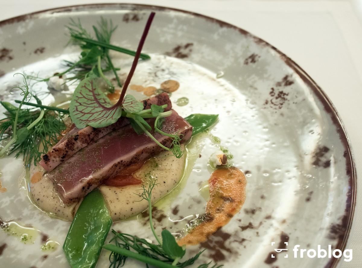 La Rotisserie Grillowany tuńczyk