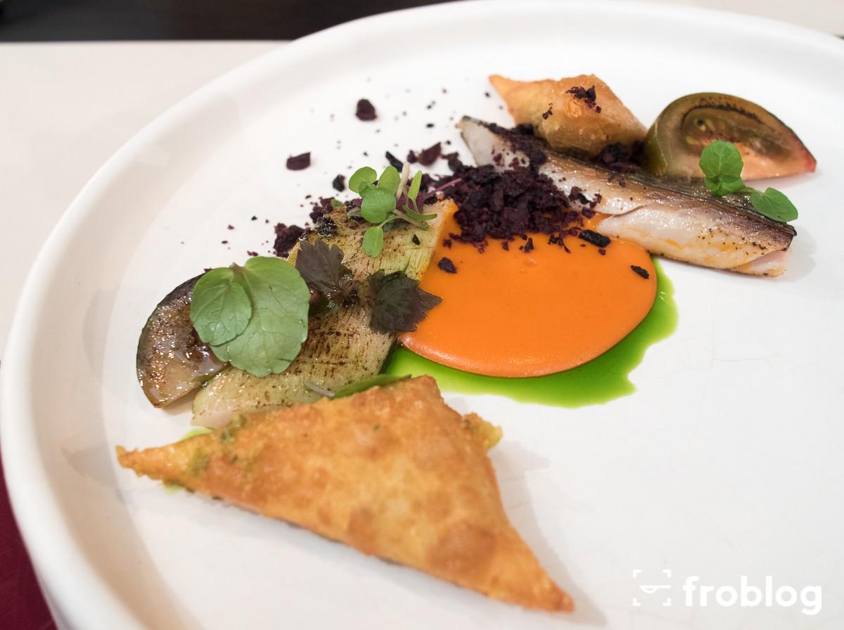 Plato: Makrela-pomidor-wedzona-bufala-oliwki
