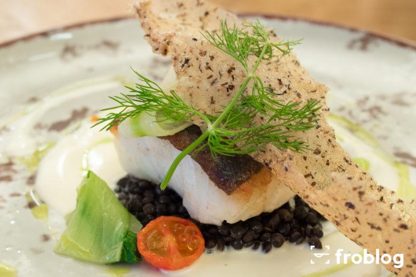 Skrei w La Rotisserie: Filet