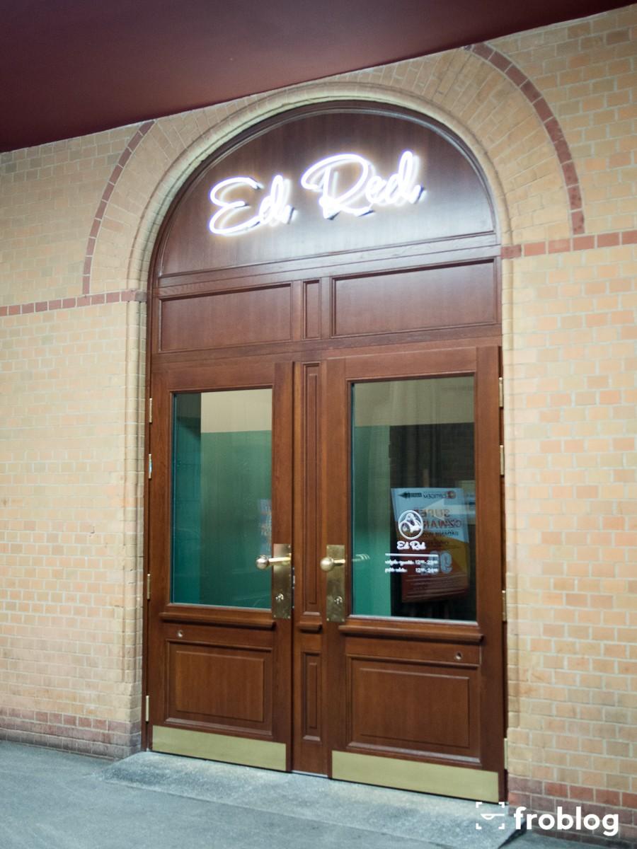Ed Red Wejście