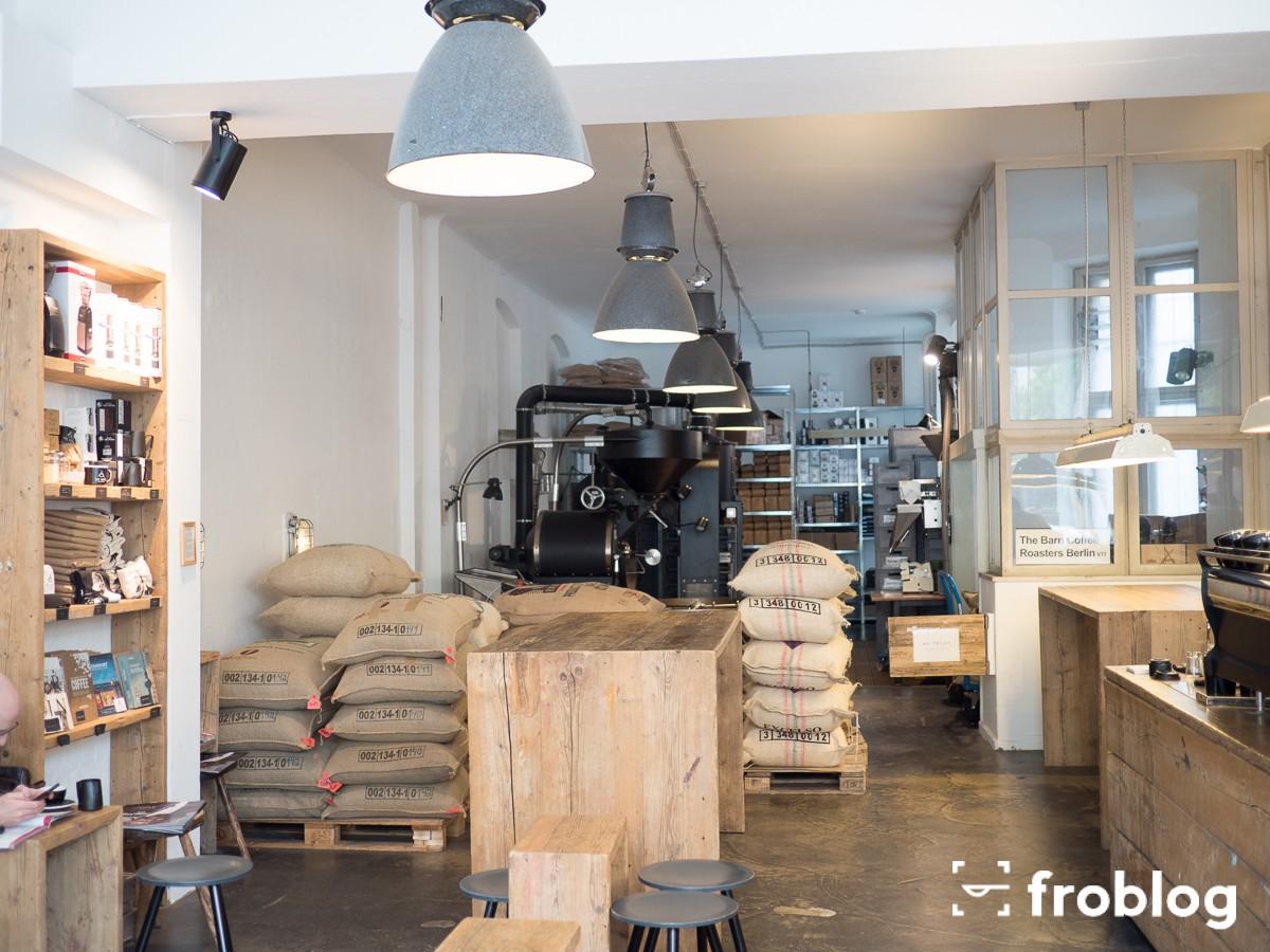 Gdzie pić w Berlinie kawę: The Barn