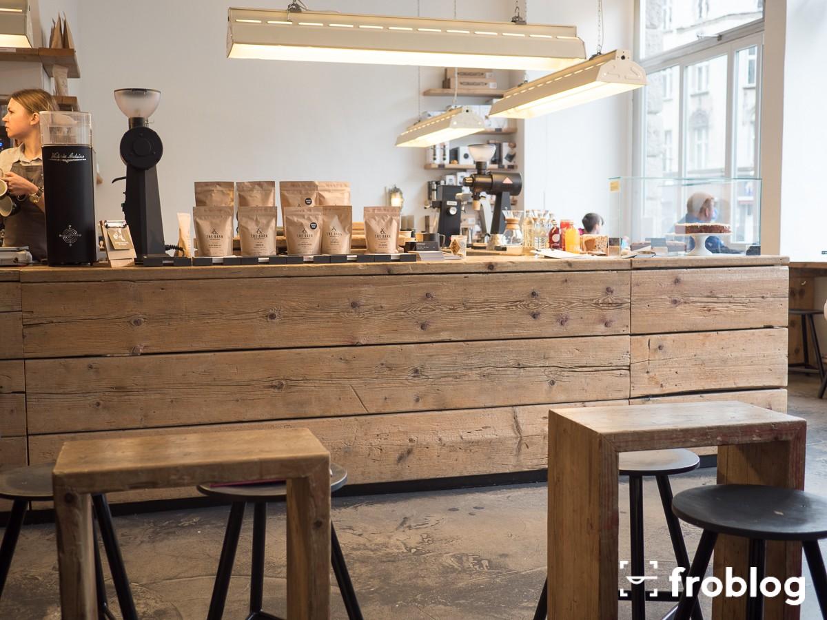 Gdzie pić w Berlinie kawę: The Barn Roastery, Schönhauser
