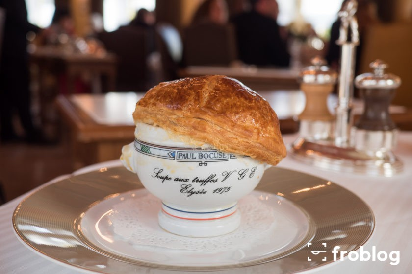 Paul Bocuse Zupa truflowa