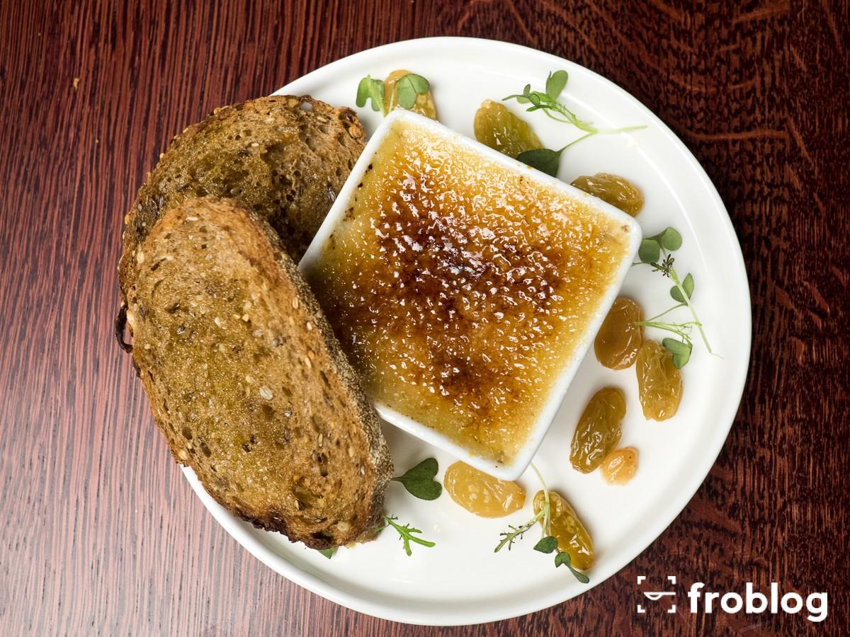 Winsky: Foie gras brulee