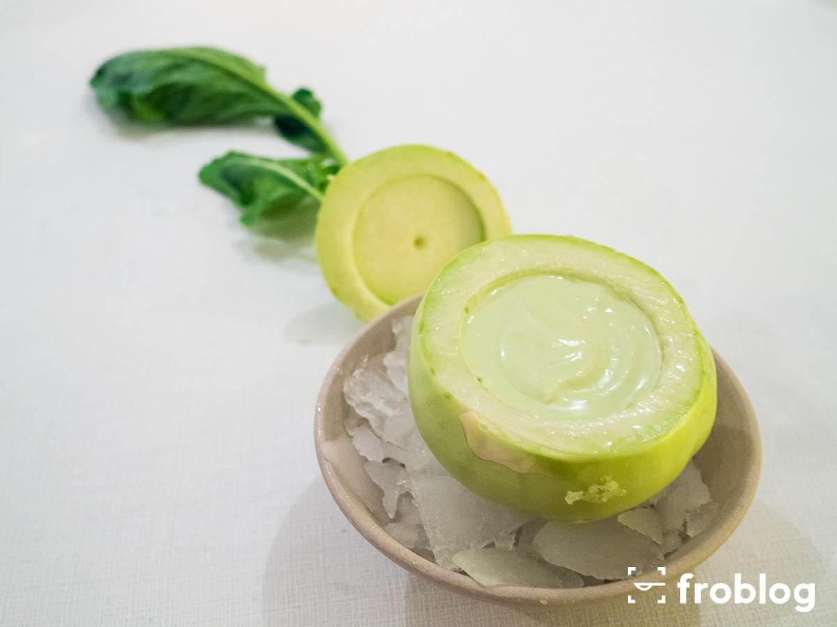 AOC : Kalarepa z jabłkiem i duńskimi ostrygami