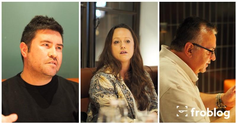 Innowacyjność w gastronomii: Diego Prado, Aleksandra Batko, Ciprian Nicolescu